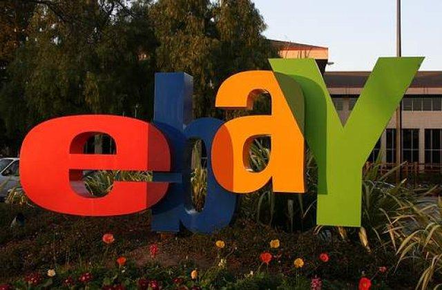 Copil scos la vanzare pe eBay