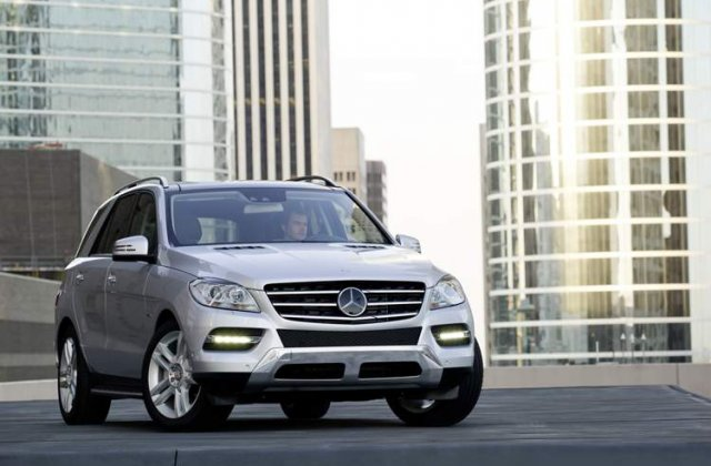 OFICIAL: Mercedes a prezentat noul SUV M-Klasse!