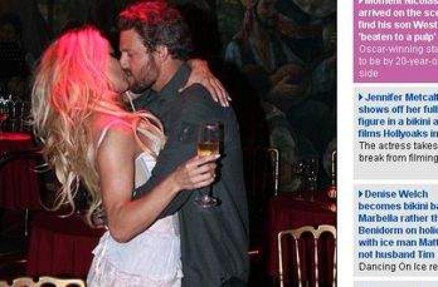 Pamela Anderson isi face de cap cu noul iubit