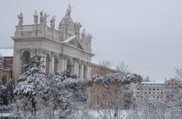 Atentionare de calatorie MAE pentru Italia: Cod de ninsoare, vant si temperaturi scazute