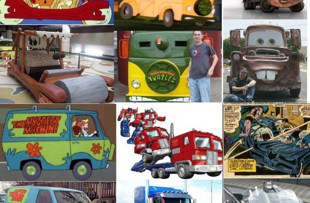 10 masini inspirate din desene animate