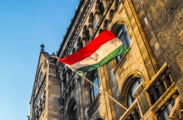 Primarul din Sfantu Gheorghe a arborat numai steagul Ungariei pe strazile din oras