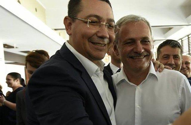 Dragnea sustine ca, atunci cand a devenit premier, Ponta ar fi prezentat lista ministrilor intocmita cu Maior