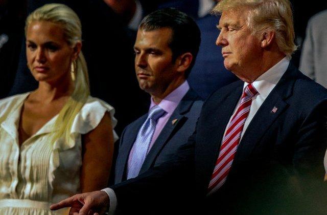 Donald Trump Jr. si sotia sa Vanessa au anuntat ca divorteaza dupa 12 ani de casnicie