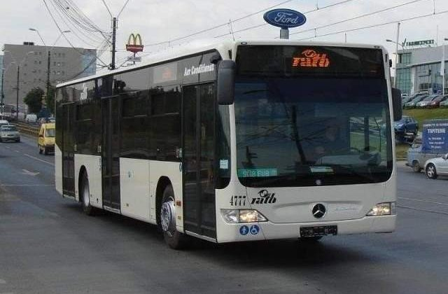 Cum vor circula autobuzele si tramvaiele in noaptea de Inviere