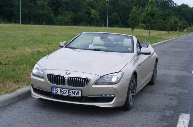 Drive test - BMW 650i cabrio - Furtuna de vara