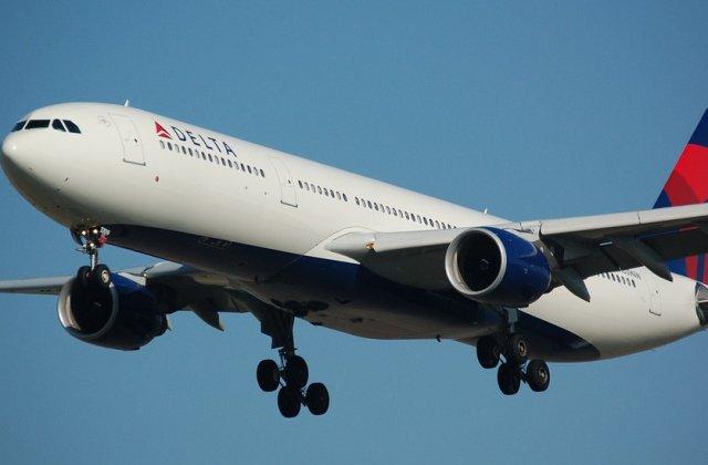 Un nou incident aviatic. Motorul unui Airbus A333 a luat foc imediat dupa decolare/ FOTO