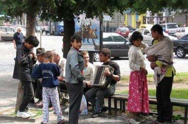 Nicolas Sarkozy a esuat in hartuirea romilor din Franta