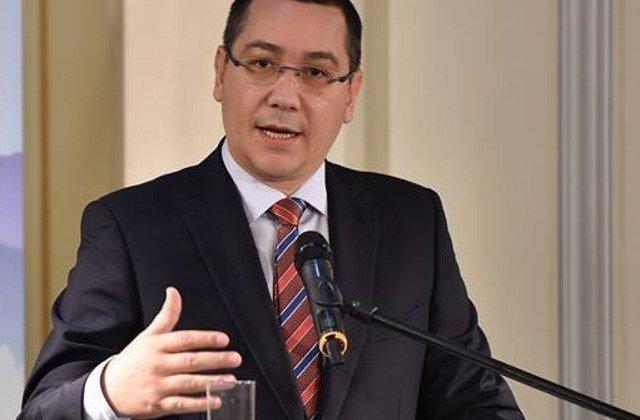 Conditia pusa de Victor Ponta pentru a participa la mitingul PSD de sambata