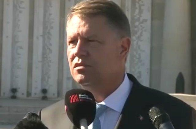 Klaus Iohannis: Nu va exista nicio suspendare. PSD incearca sa amputeze puterile presedintelui. Statul paralel nu exista