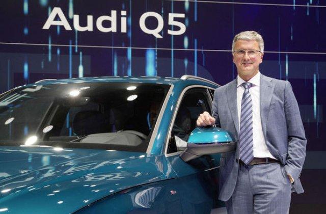"""CEO-ul Volkswagen nu intelege arestarea sefului Audi: """"Nu s-a intamplat niciodata ca CEO-ul unui constructor sa fie arestat"""""""