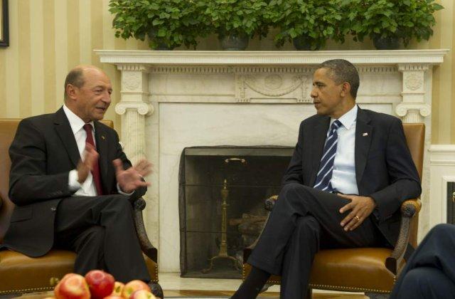 Ce a spus Basescu dupa intalnirea cu Obama?