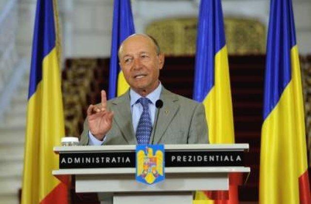 Basescu: Sacrificiile romanilor din ultimii 2 ani vor fi rasplatite