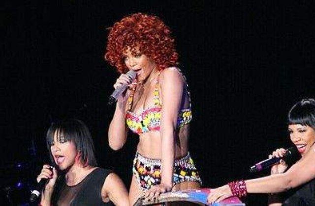 Rihanna, data afara de pe camp