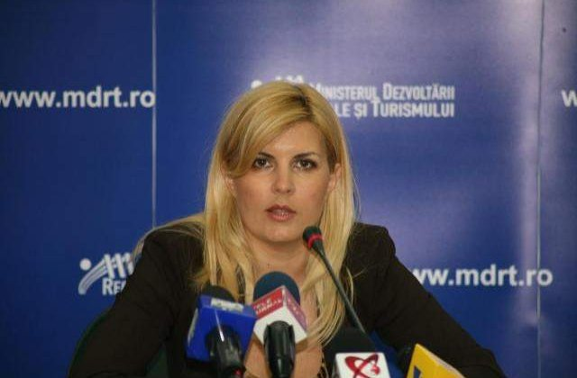 """Udrea, candidata in colegiul """"Alice in Tara Minunilor"""""""