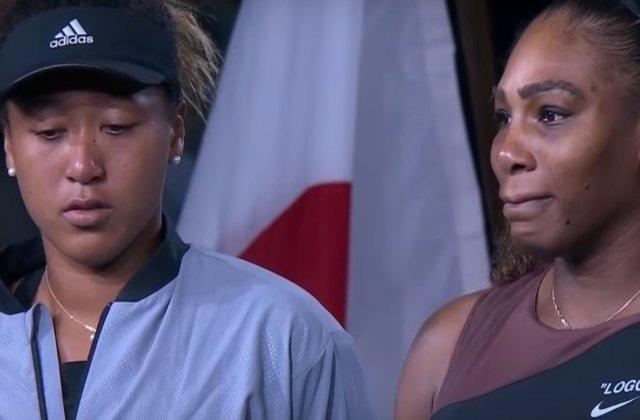 Reactia bizara a organizatorilor de la US Open dupa scandalul din finala/ VIDEO