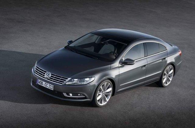 Oficial: Iata noul VW Passat CC facelift!