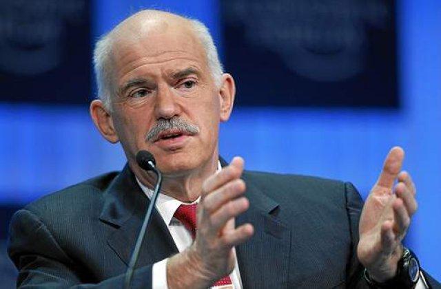 GRECIA accepta SALVAREA: Guvernul Papandreou a obtinut votul de incredere al Parlamentului