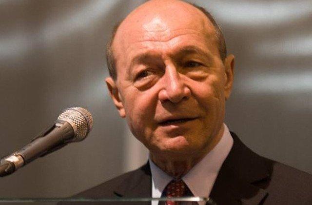 Traian Basescu: Intre institutii exista un razboi puternic, ceea ce face ca Romania sa stea pe loc