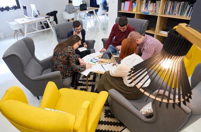 4 schimbari pentru un spatiu de lucru unde oamenii se simt bine