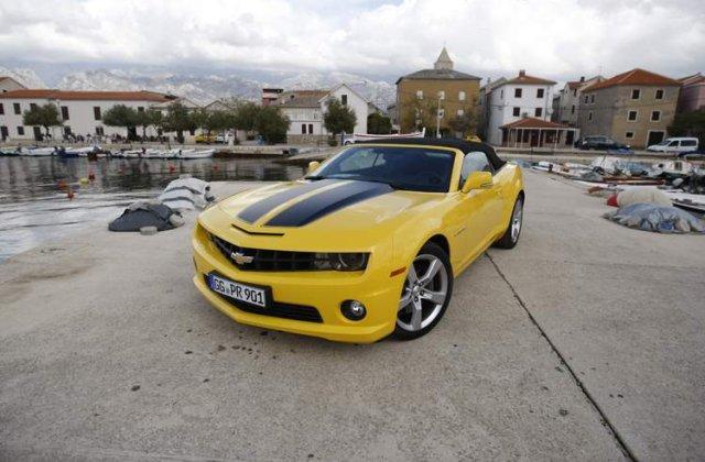 Drive test - Chevrolet Camaro. O altfel de viata!