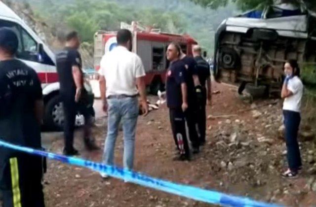 O familie de romani din Blaj a murit in Turcia, in urma unui accident rutier