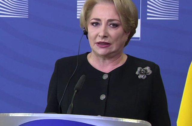 Dancila, in Parlamentul European: Nu am venit sa dau socoteala