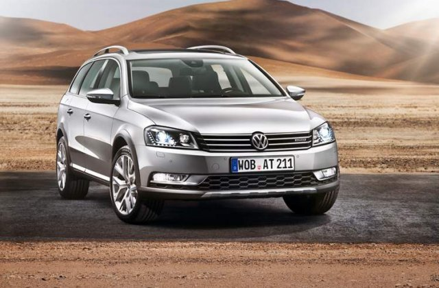 Volkswagen Passat Alltrack - O versiune ceva mai... SUV