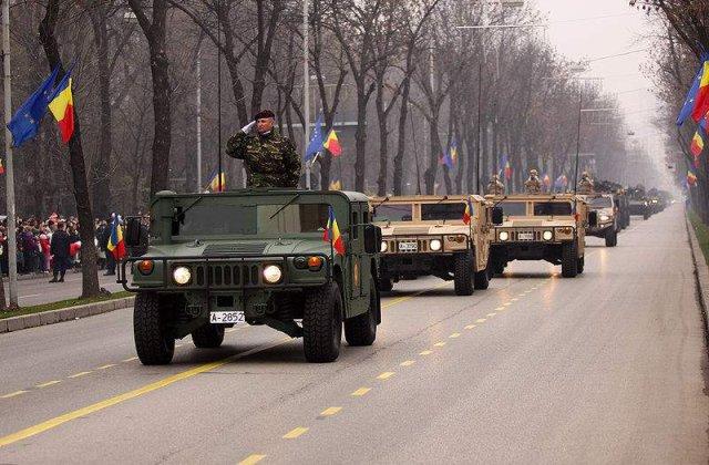 500 de jandarmi pentru Ziua Nationala in Bucuresti