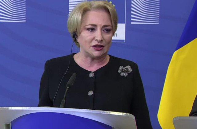 Dancila, despre rezolutia PE: Este profund incorecta si in cel putin cateva puncte nu are temei deloc