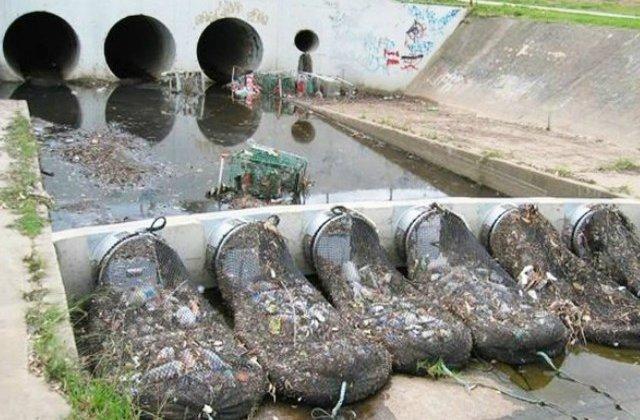Autoritatile unui orasel din Australia au gasit o solutie ingenioasa pentru curatarea apelor poluate