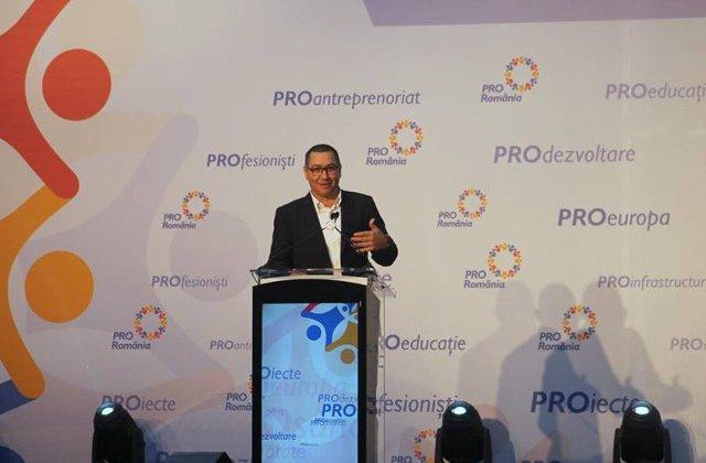 Ponta: Pentru ca banii europeni nu pot fi furati de Teldrum fara sa fie sesizati cei de la OLAF si DNA - atunci nu se mai fac proiecte!