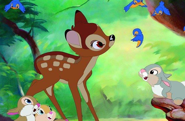 """Obligat de judecator sa urmareasca animatia """"Bambi"""" lunar, dupa ce a ucis sute de caprioare"""