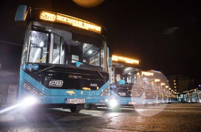Unul dintre noile autobuze din Bucuresti, inundat de apa clocotita, dupa ce instalatia de incalzire s-a stricat / VIDEO