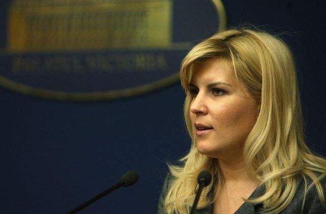 Elena Udrea: Iohannis este creatia sistemului