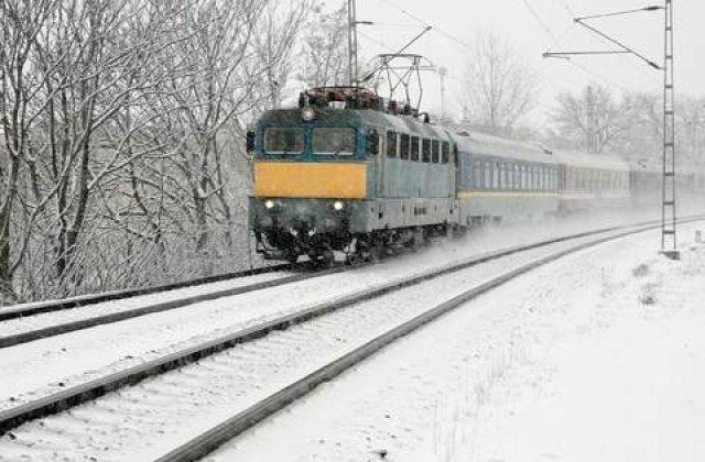 Graficul zilei: Situatia trenurilor de calatori din Romania