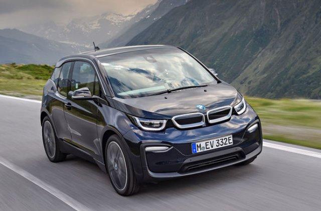 Vanzarile de masini electrice s-au dublat in Romania in 2018 la aproape 700 de unitati: BMW i3, cel mai popular model electric