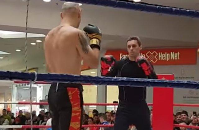 Mircea Badea, facut KO in doar cateva secunde, de catre un luptator de K1 / VIDEO