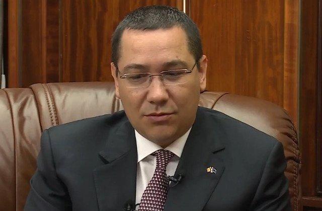 Ponta: Consider ca mi-am facut datoria fata de PSD
