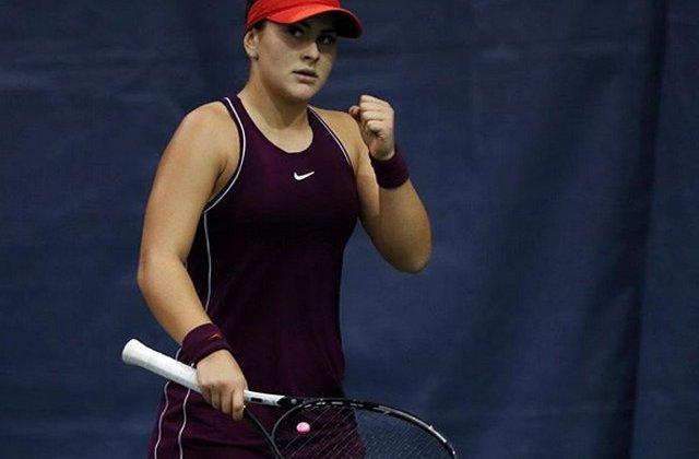 Indian Wells: Bianca Andreescu s-a calificat in sferturi, dupa ce a invins-o pe Muguruza