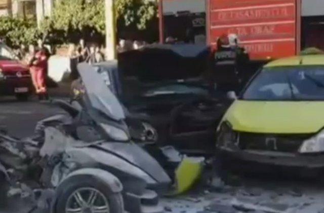 O judecatoare de 35 de ani a murit in urma unui accident rutier produs de un politist