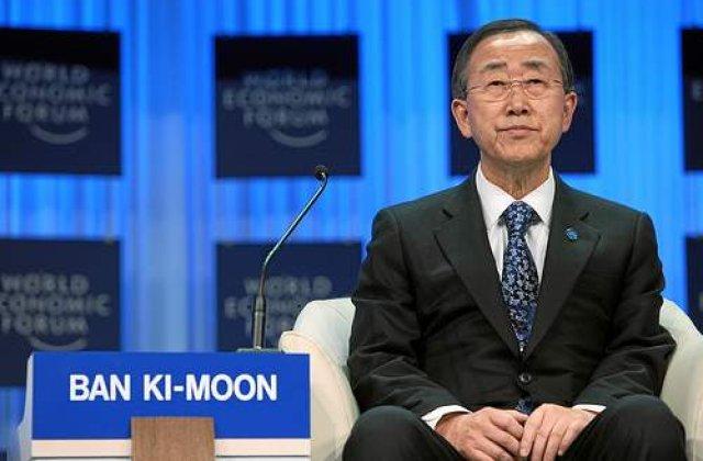 Ban Ki-moon: Propun o misiune de supraveghere in Siria pentru trei luni