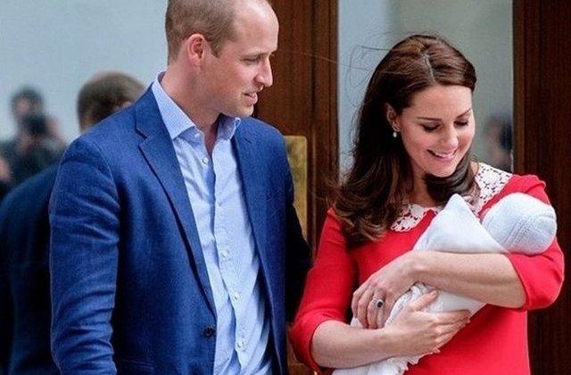Printul Louis, fiul cel mic al ducilor de Cambridge, implineste varsta de 1 an/ FOTO