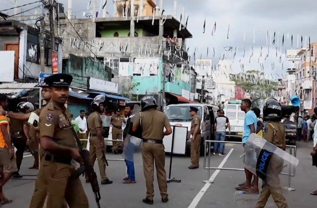 Bilantul victimelor exploziilor din Sri Lanka a ajuns la 310 morti. Politia a facut noi arestari