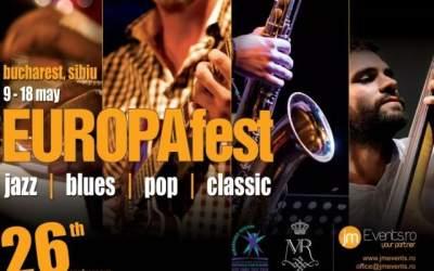 EUROPAfest 26 debuteaza pe 9...