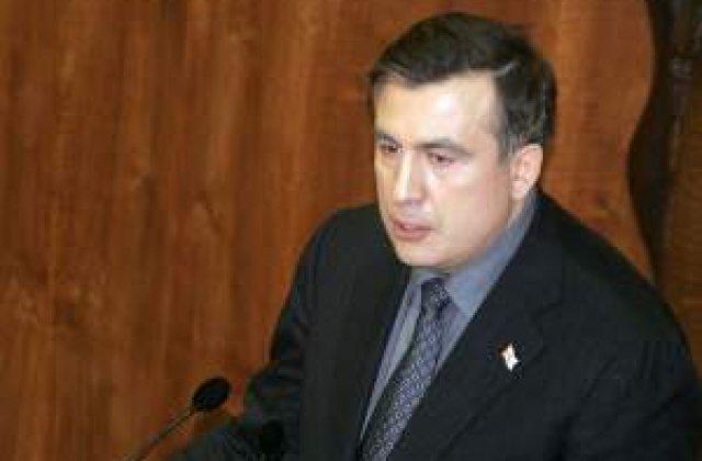 Saakasvili: Romania ar trebui sa fie liderul integrarii europene la Marea Neagra