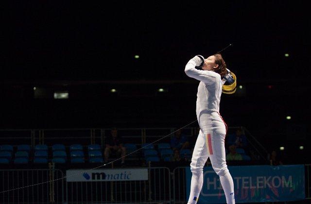 Ana Maria Popescu, cea mai buna spadasina a lumii dupa Grand Prix-ul de la Cali
