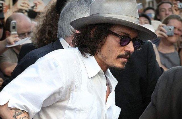 Johnny Depp: Eu sunt vampirul alfa