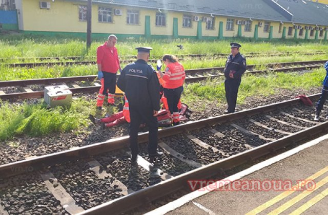 O femeie din Vaslui s-a aruncat de pe o pasarela, dupa ce a aflat ca fiul ei s-a sinucis