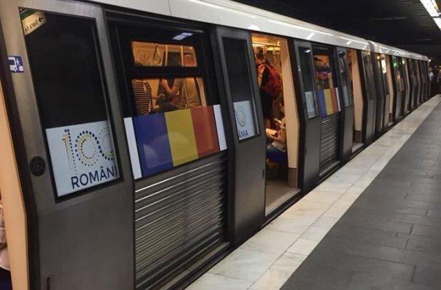 Circulatie ingreunata pe Magistrala 2 de metrou in urma dereglarii unui sistem electric al liniei